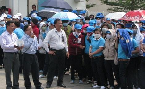 Công Đoàn chưa thể tổ chức đình công cho Công nhân do còn nhiều vướng mắc