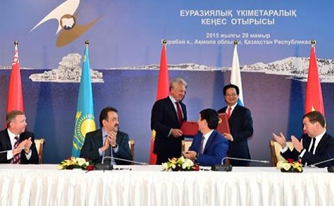 Hiệp định FTA giữa Việt Nam và liên minh kinh tế Á - Âu
