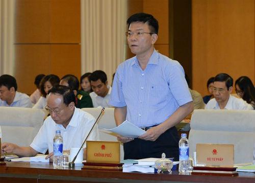 Bộ trưởng Bộ Tư pháp Lê Thành Long