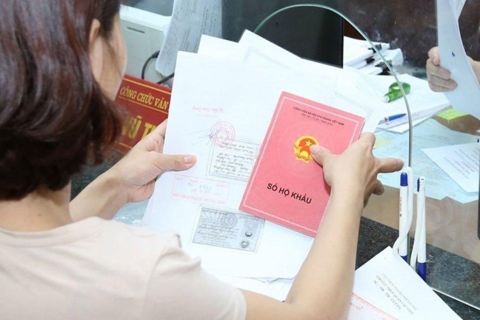 Sổ hộ khẩu giấy