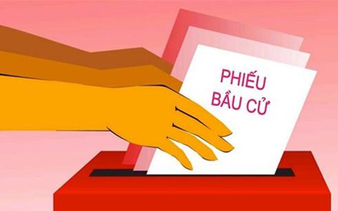 Hướng dẫn bỏ phiếu bầu cử đại biểu Quốc hội, đại biểu HĐND
