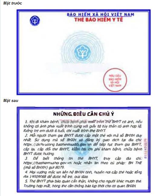 mẫu thẻ bhyt tới từ ngày 01/4/2021
